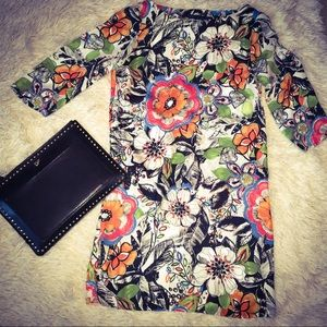 Zara floral dress - small